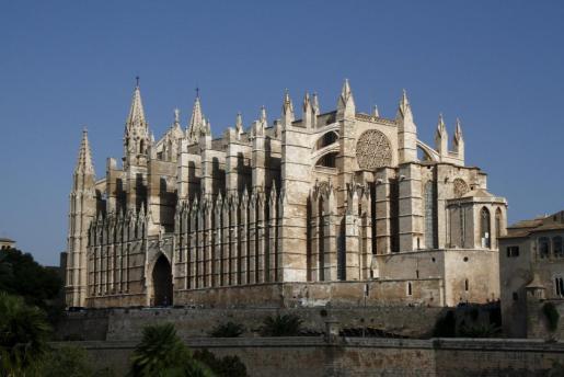 Imagen de archivo de la catedral de Palma.
