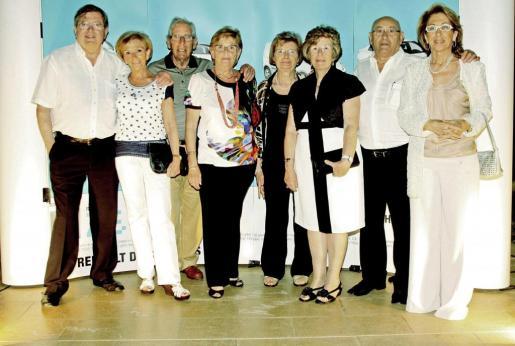 Joan Joan, Jermita Torrens, Sebastià Socías, Francisca Montserrat, Margalida Font, Antonia Mulet, Miquel Clar y Jeronia Pou.