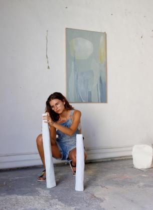 La artista Alba Suau.