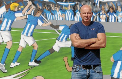 El presidente y máximo accionista del Atlético Baleares, Ingo Volckmann.