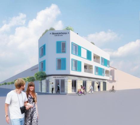 Escaire Arquitectura ha creado el proyecto del Hotel de Ciutat Tramuntana buscando un aire sobrio y práctico.