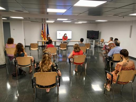 La consellera Patricia Gómez, en rueda de prensa.