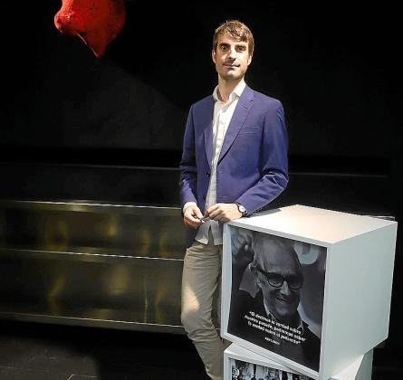 El politólogo Pablo Simón, este martes en Palma.