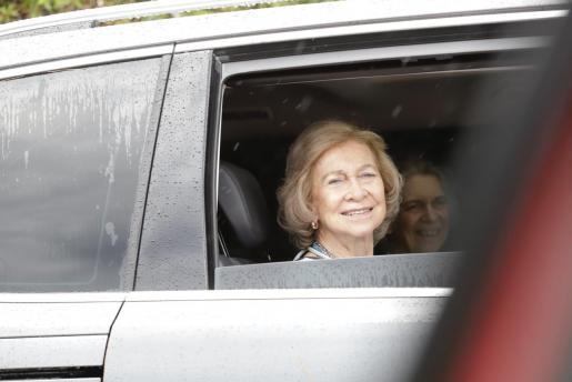 La reina Sofía ya se encuentra en el palacio de Marivent.