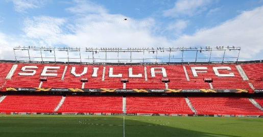 Imagen del estadio del Sevilla FC, uno de los principales clubes de la Liga española.