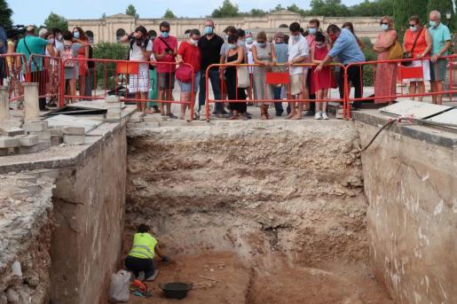 Ha localizado restos óseos que corresponderían a víctimas de la Guerra Civil.