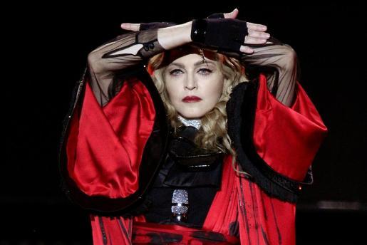 Imagen de archivo de la cantante Madonna.