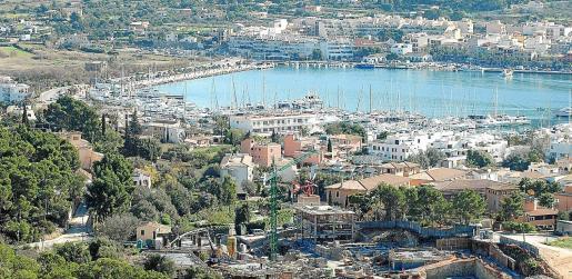 Imagen de la urbanización de Monport, pocos meses después de la paralización de las obras.
