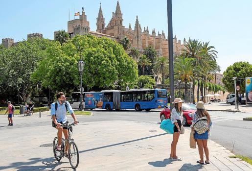 La bajada de turistas en la Isla afecta a la ocupación hotelera en todas las zonas.