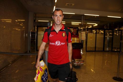 Iván Ramis, de vuelta en Palma tras su estancia con el Mallorca en Holanda.