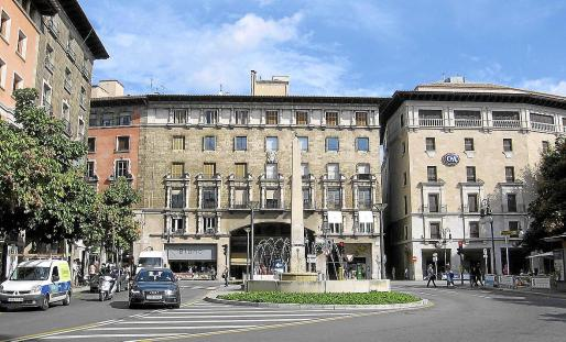 La plaza Joan Carles I, conocida popularmente como 'de ses Tortugues', mantendrá el nombre oficial.