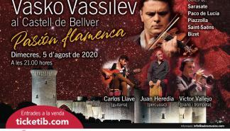 El violinista Vasko Vassilev regresa al Castell de Bellver con 'Pasión flamenca'