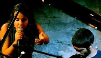 Concierto de Júlia Colom & Toni Vaquer en sa Pobla
