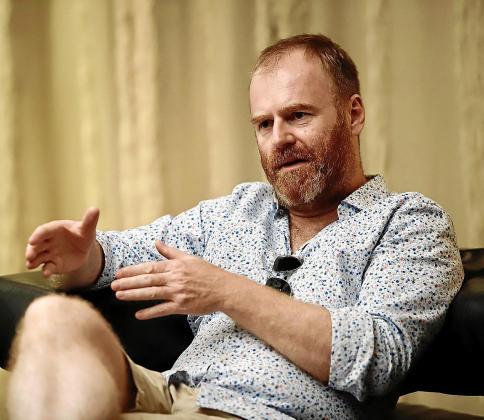 El director alemán Stephan Wagner, en el Hotel HM Jaime III de Palma.