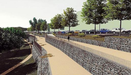 El paseo del Padre Manolo estará incluido en este proyecto del Parc de Sa Riera.