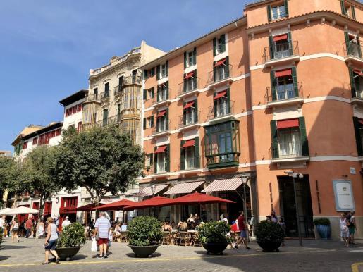 El turismo extranjero ha caído en picado en los hoteles boutique de Palma.