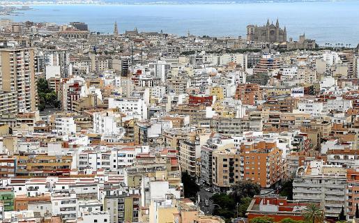 Una vista parcial de Palma, donde se han registrado más 3.500 empadronamientos entre mayo y julio.