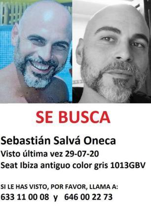 La familia pide colaboración para encontrar a Sebastián.