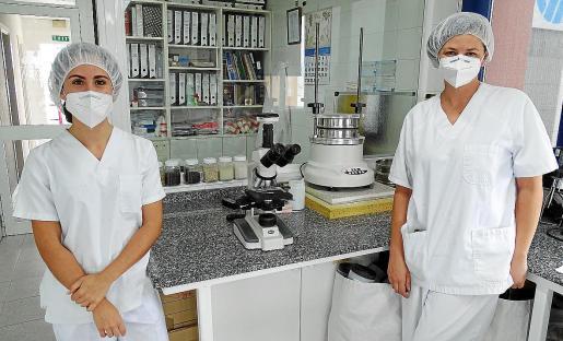 Trabajadoras de uno de los departamentos de la empresa Carob.