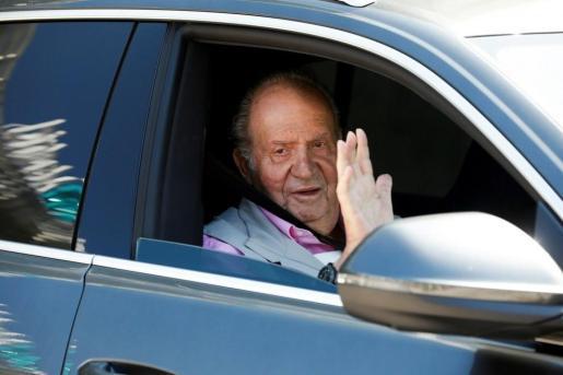 Juan Carlos I, en una imagen de archivo que simboliza la decisión que ha comunicado este lunes.