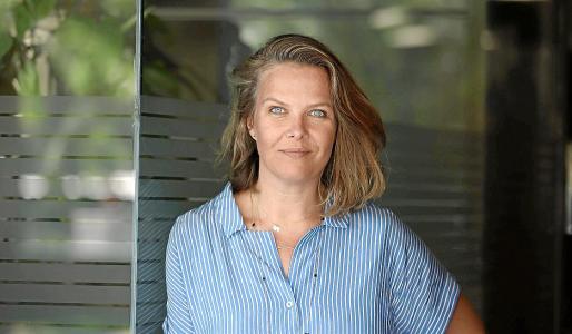 La directora de 'Berni', Elisabeth Moll, posa para esta entrevista.