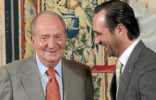 La última audiencia del rey Juan Carlos a las autoridades de las Islas fue en el año 2013, cuando José Ramón Bauzá era presidente del Govern.