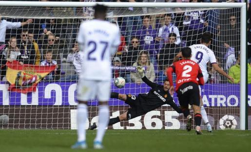 Lanzamiento de un penalti.