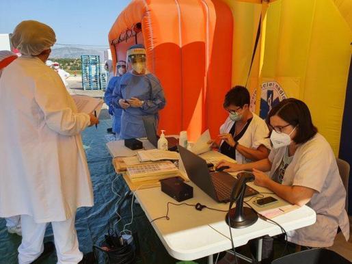 La actuación preventiva se produjo en el marco del operativo para romper las cadenas de transmisión del coronavirus en el ámbito laboral.