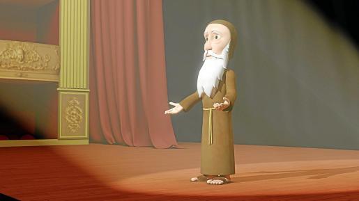 Ramon Llull se traslada al presente en el escenario del Teatre Principal de Palma.