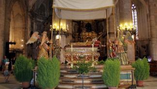 Celebración de la Asunción de María en la Seu