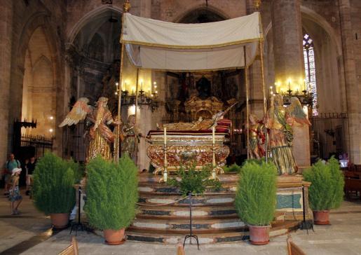 El 'Llit de la Mare de Déu' estará expuesto del 15 al 23 de agosto.