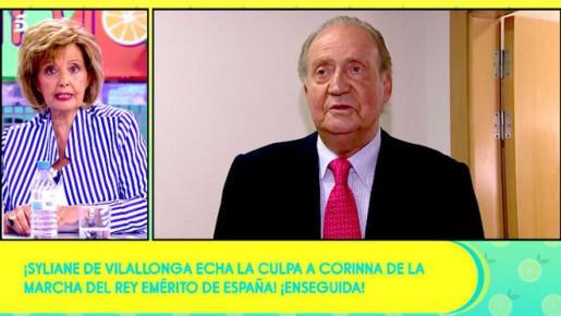 La periodista también se ha dirigido directamente al vicepresidente segundo del Gobierno, Pablo Iglesias.