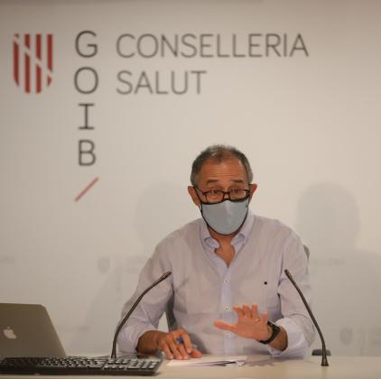 Javier Arranz, durante la rueda de prensa de este miércoles.