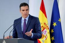 El presidente del Gobierno, Pedro Sánchez, ofrece la habitual comparecencia antes de las vacaciones.