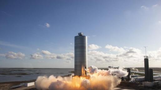 El cohete que nos llevará al planeta rojo da su primer salto.