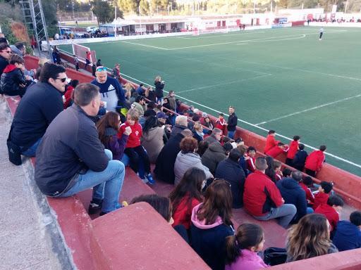 Imagen de un partido disputado en el campo de la Penya.