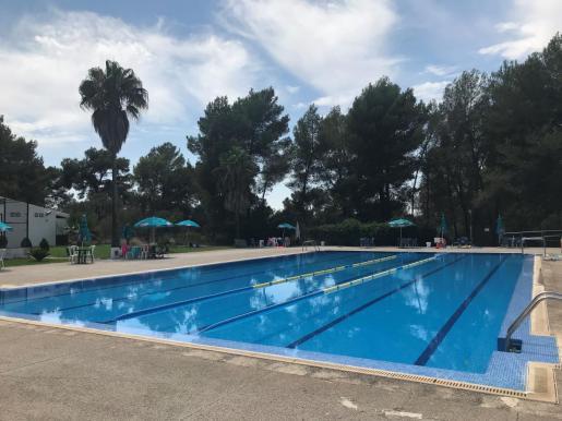 La escuela de verano que se estaba desarrollando en el polideportivo municipal de Sa Comuna.