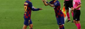 El Barça gana en la gran noche del mallorquín Monchu y se cita con el Bayern
