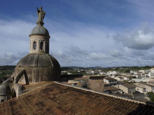 Vista general de Vilafranca.