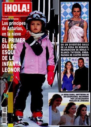 La infanta Leonor es la protagonista absoluta de la portada de Hola.