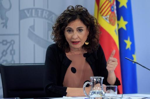 imagen de archivo de la ministra de Hacienda y portavoz del Gobierno.