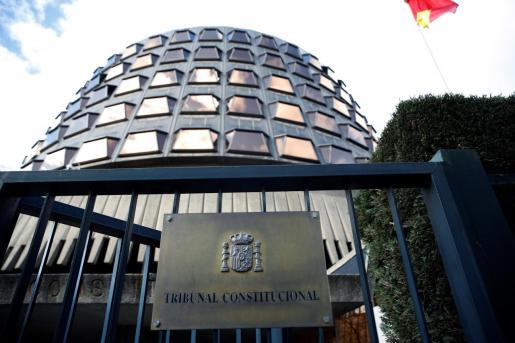 Imagen de la sede del Tribunal Constitucional (TC), en Madrid.
