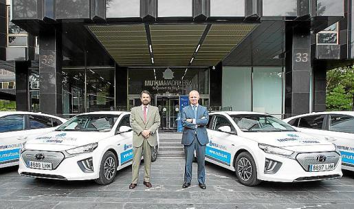 La conocida compañía aseguradora apuesta por los vehículos más ecológicos de Hyundai.