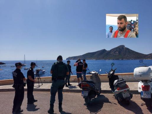 Imagen de las tareas de rescate de Fernando Garfella.