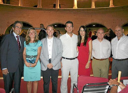 Rafael Bosch, María del Carmen Sánchez, Marcelino Minaya, Fernando Gilet, Rachel Alcántara, Adolfo Orozco y José Luis Codina.