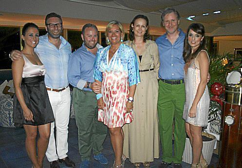 "Beatriz Díez Mayans, Oliver ""Twist"", Tommy Ferragut, Kettylin Magnusson, Christine Crespo, Ramon Socias y Lorena Fernández."
