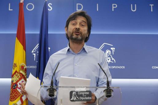 El secretario de Sociedad Civil y Movimiento Popular de Podemos, Rafael Mayoral, en una imagen de archivo.