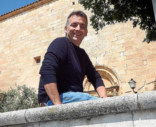 Joan Carles Verd, alcalde de Sencelles.