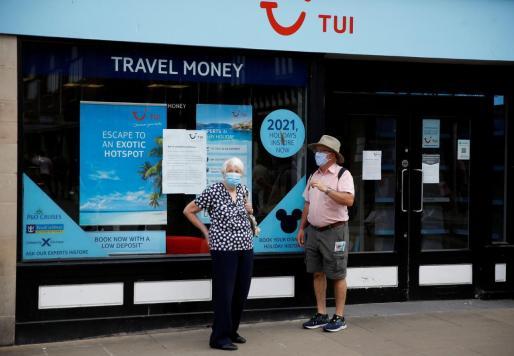 Imagen de una agencia de viajes de TUI.