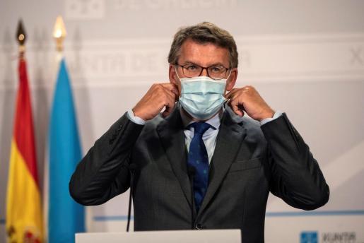 El presidente de la Xunta de Galicia, Alberto Nuñez Feijóo.